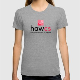HAWCS Club Logo - Black T-shirt