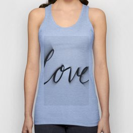 Love Blurred Lines Unisex Tank Top