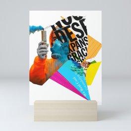 Abolition on a Monday night Mini Art Print