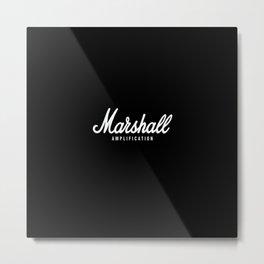 Marshall Metal Print