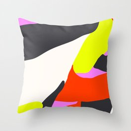 Blind Neon Throw Pillow