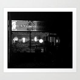 Saigon Restaurant on Queen St. Art Print