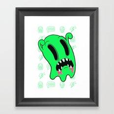 Ghosting Framed Art Print