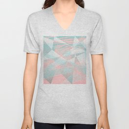 Fragmentation Unisex V-Neck