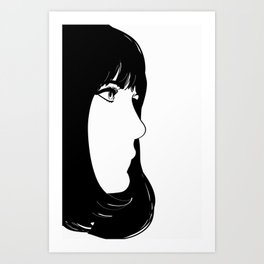 always something there Art Print
