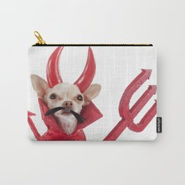 devil chihuahua Carry-All Pouch