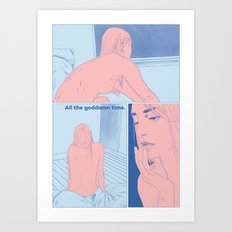 I Keep Dreaming About You pt 2 Art Print