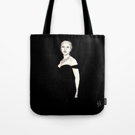 Black and Scarlett  Tote Bag