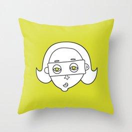 faces 03 Throw Pillow