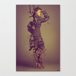 Beauty Obsolete Canvas Print