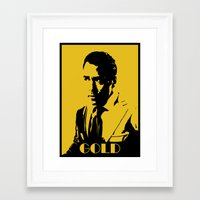 entourage Framed Art Prints featuring Entourage - Ari Gold by StriveArt