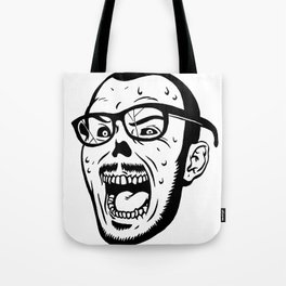 Owl Vision Logo (Zombie Face) Tote Bag