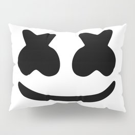 Marshmello smile Pillow Sham