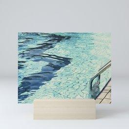 Summertime swimming Mini Art Print
