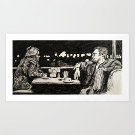 Thief Art Print