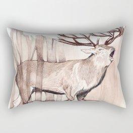 Surreal Stag Rectangular Pillow