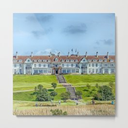 The Turnberry Hotel Metal Print