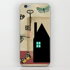 The House With The Turquoise Light On No.2 iPhone & iPod Skin