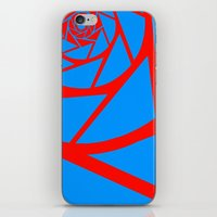aperture iPhone & iPod Skins featuring Aperture Vector by Alli Vanes
