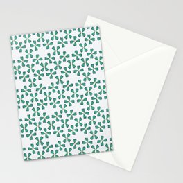 Feather Fan pattern Stationery Cards