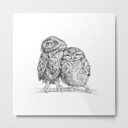 The Little Owl Metal Print