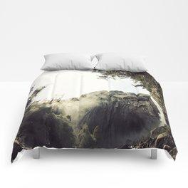 Yosemite Waterfalls Comforters