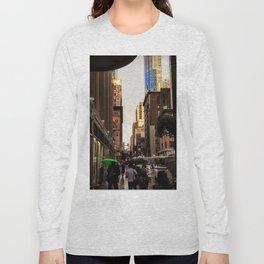 33rd Street with Rainbow Long Sleeve T-shirt