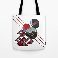 2001 a space odyssey Tote Bags featuring 2001 a space odyssey by lina