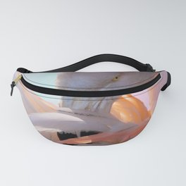 Flamingo Pink Mint Fanny Pack