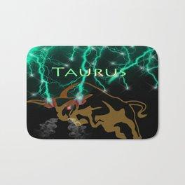 Taurus Birth Sign Bath Mat