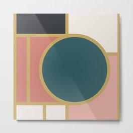 Maximalist Geometric 05 Metal Print