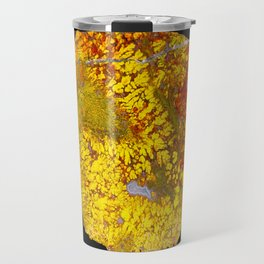 Cady Mountain Yellow Plume Agate Travel Mug