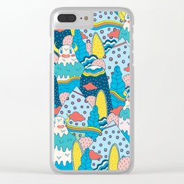 LOST! Clear iPhone Case