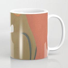 Lady in a Black Dress Coffee Mug