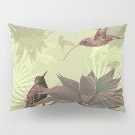 Tropical Hummingbirds Pillow Sham