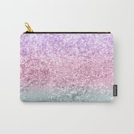 Unicorn Girls Glitter #7a #shiny #pastel #decor #art #society6 Carry-All Pouch