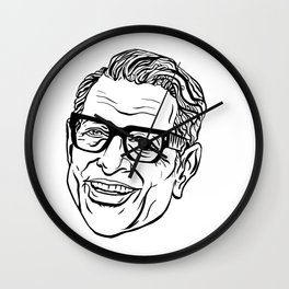 Zaddy Daddy Wall Clock