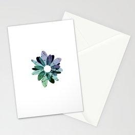 Rock Flower Stationery Cards
