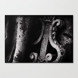 crafted stone 3 Canvas Print