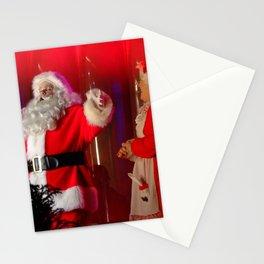 Holiday Christmas Santa Kris Kringle Stationery Cards