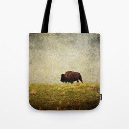 Lone Buffalo Tote Bag