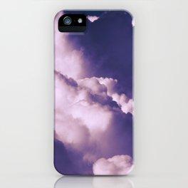 Violet Clouds iPhone Case