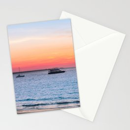 Sunset at the Beach in Darwin, Australia Stationery Cards