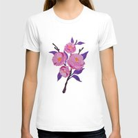 study T-shirts featuring Flower study by Bexelbee