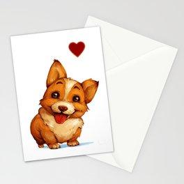 Fat Little Corgi Stationery Cards