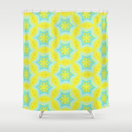 Athenais offset 12 Shower Curtain