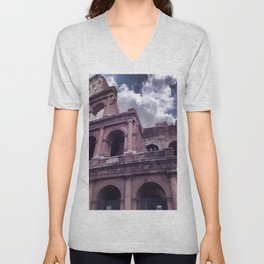 The Colosseo Unisex V-Neck