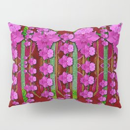 jungle flowers in the orchid jungle ornate Pillow Sham
