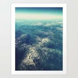 from above Art Print