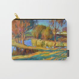 Spring in the village Carry-All Pouch